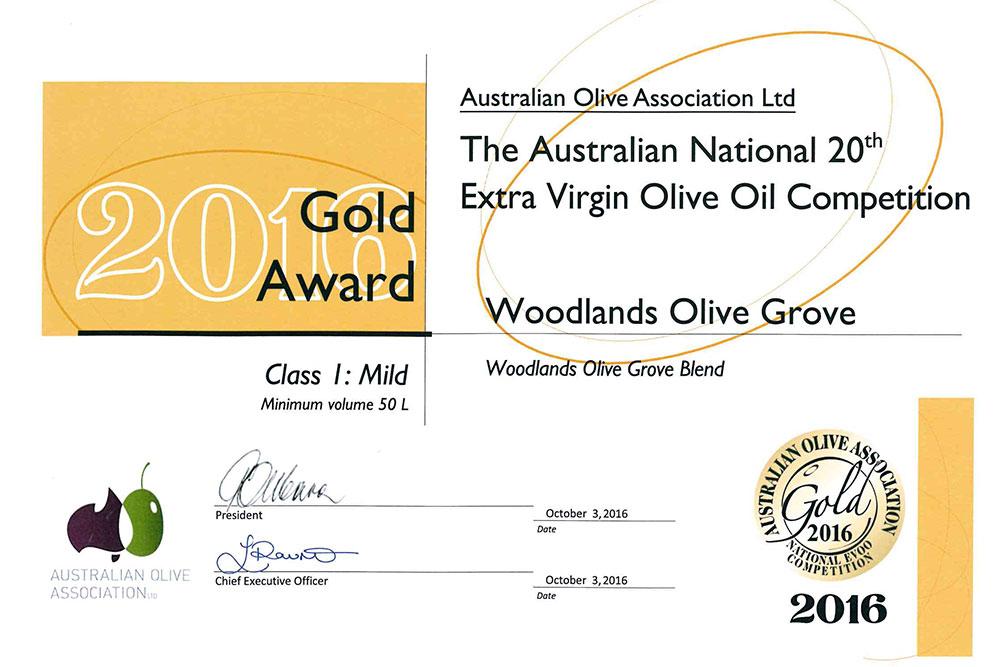 Woodlands Olive Grove, Hunter Valley